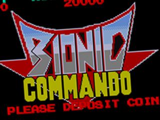 Bionic Commando, title