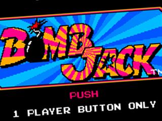 Bomb Jack, title