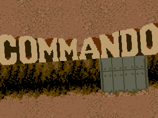 Commando, title