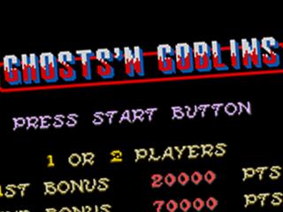 Ghosts 'n Goblins, title