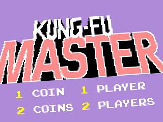 Kung-Fu master, title