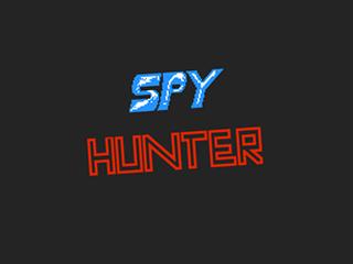 Spy Hunter, title
