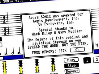 Sonix – Splash screen, thumbs