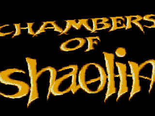 Chambers of Shaolin, loader
